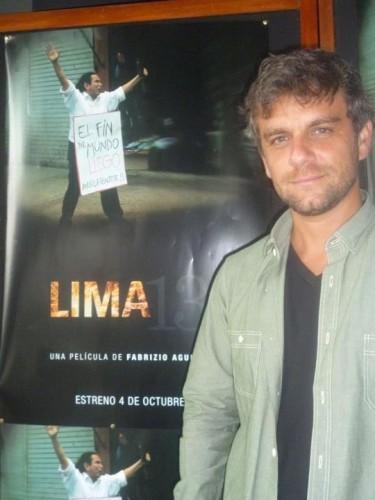 Fabrizio Aguilar, director de Lima 13
