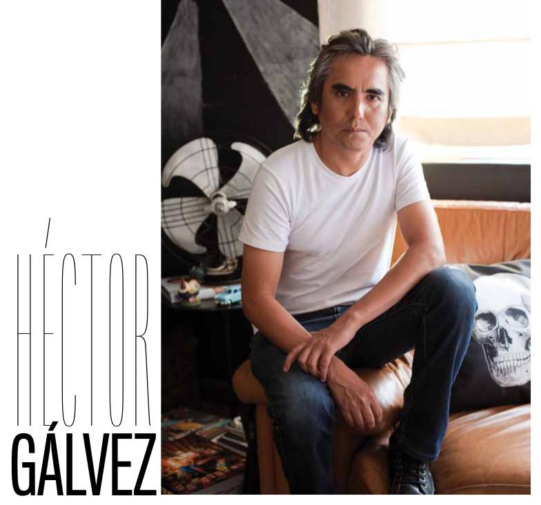 Hector Galvez - revista GQ cine peruano
