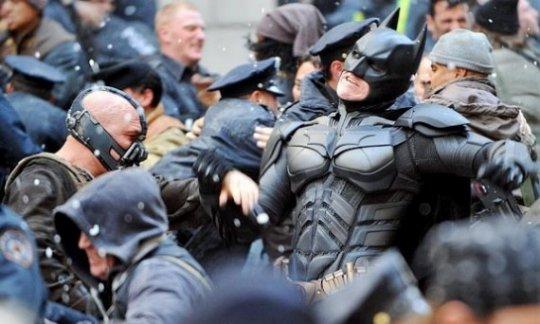 The Dark Knight Rises - occupy wall street