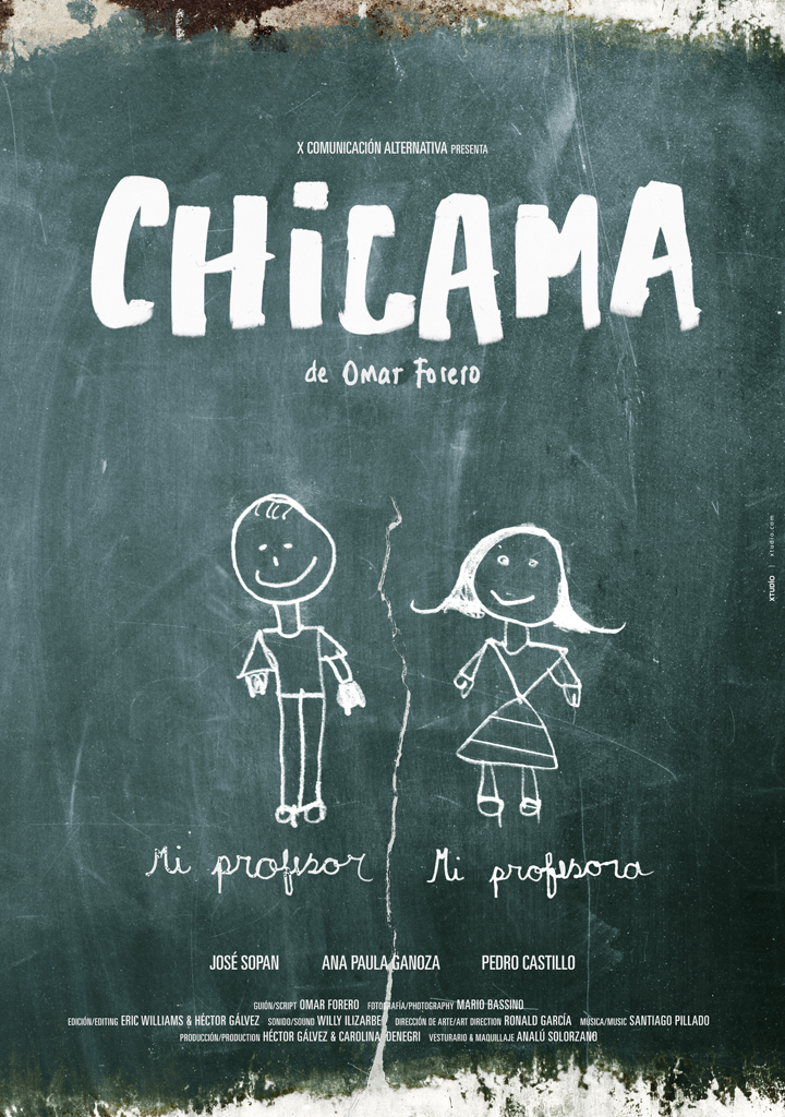 Chicama, de Omar Forero - afiche