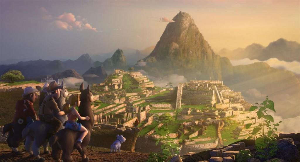 Tadeo Jones en Machu Picchu