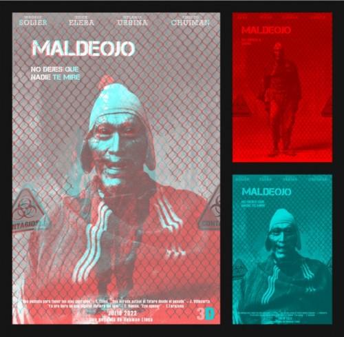 Maldeojo, afiche