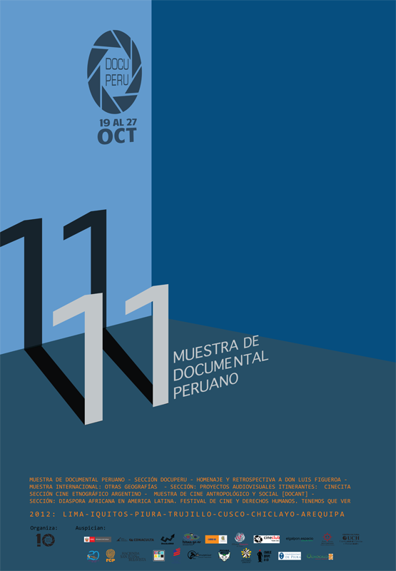 11 Muestra Documental Peruano, afiche