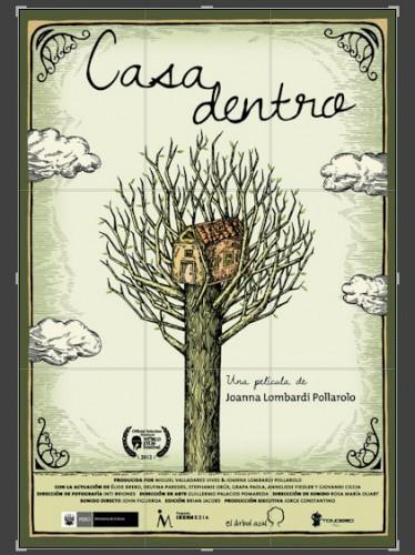 Casadentro, poster
