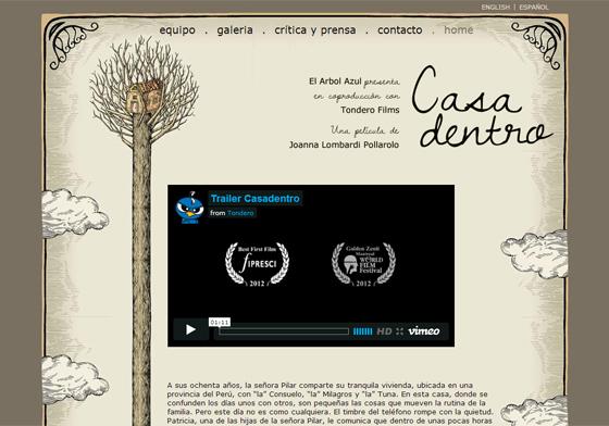 Casadentro - web