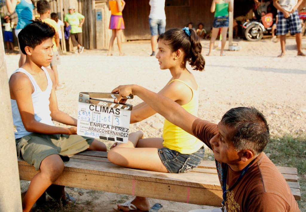 Claudia Ruiz, claqueta de Climas