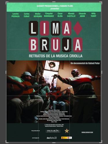 Lima Bruja, poster