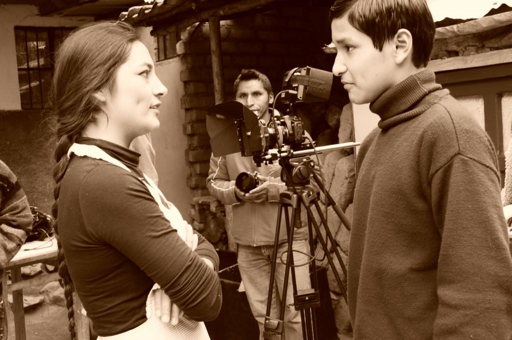 Magaly Solier y Diego Yupanqui, Extirpador de idolatrias