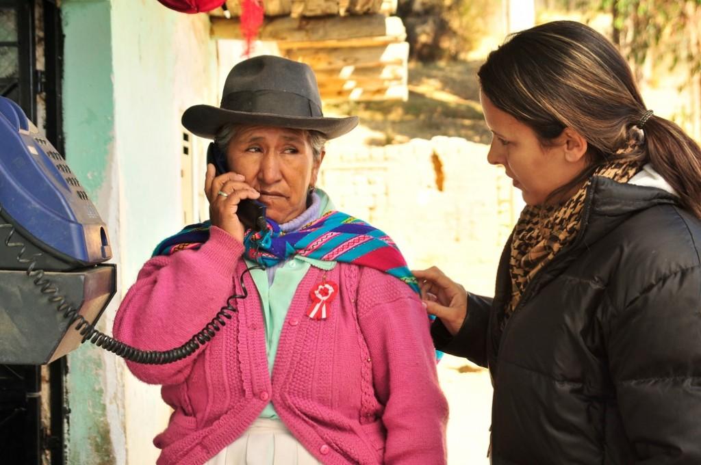 Maria Unocc y Enrica Perez, en Climas