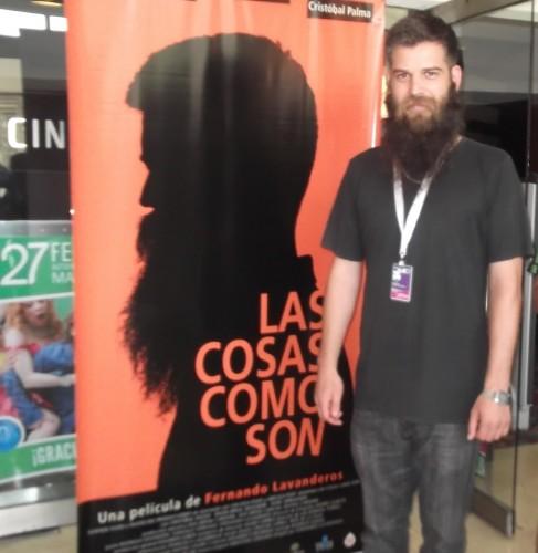 """Cristóbal Palma, protagonista de """"Las cosas como son"""""""