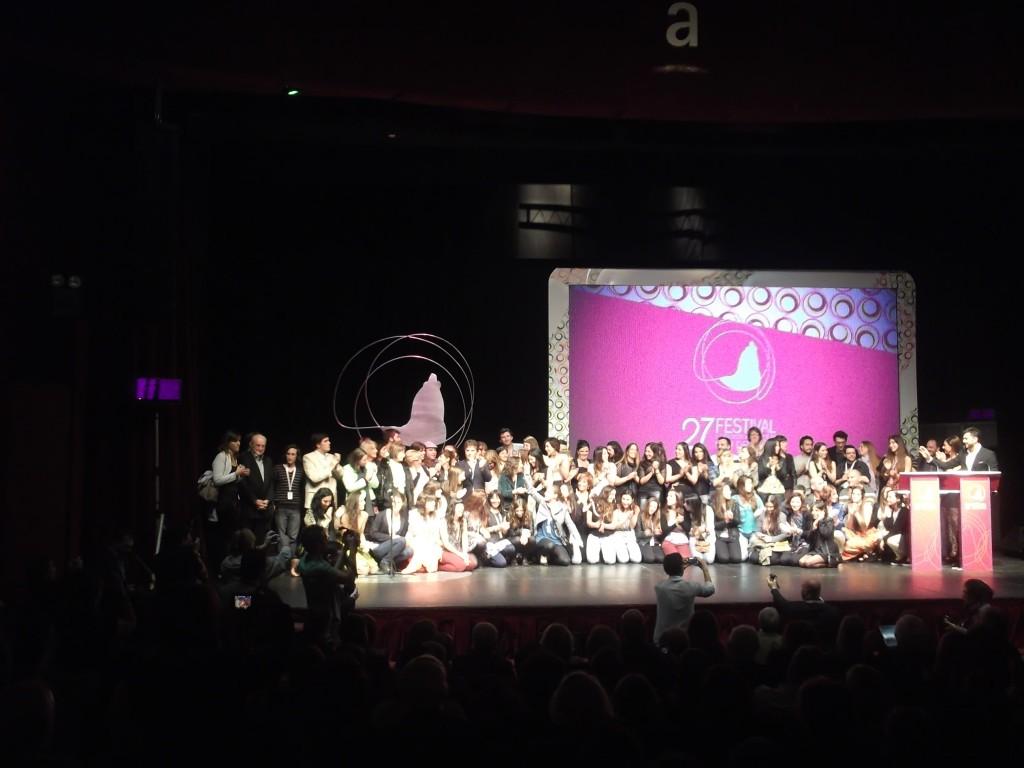 Ceremonia de clausura del 27 Festival de Mar del Plata 2012