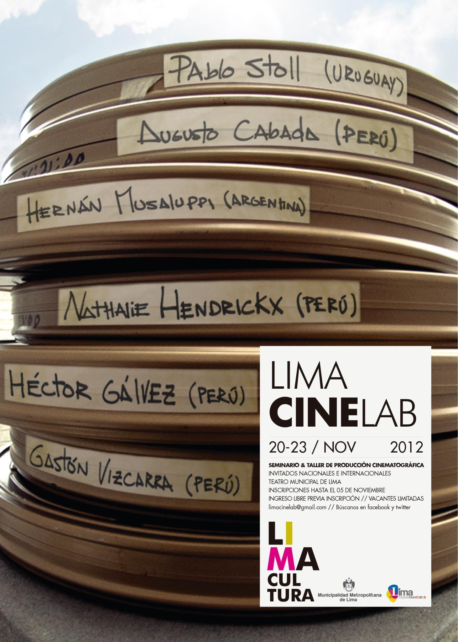 Lima CineLab - afiche