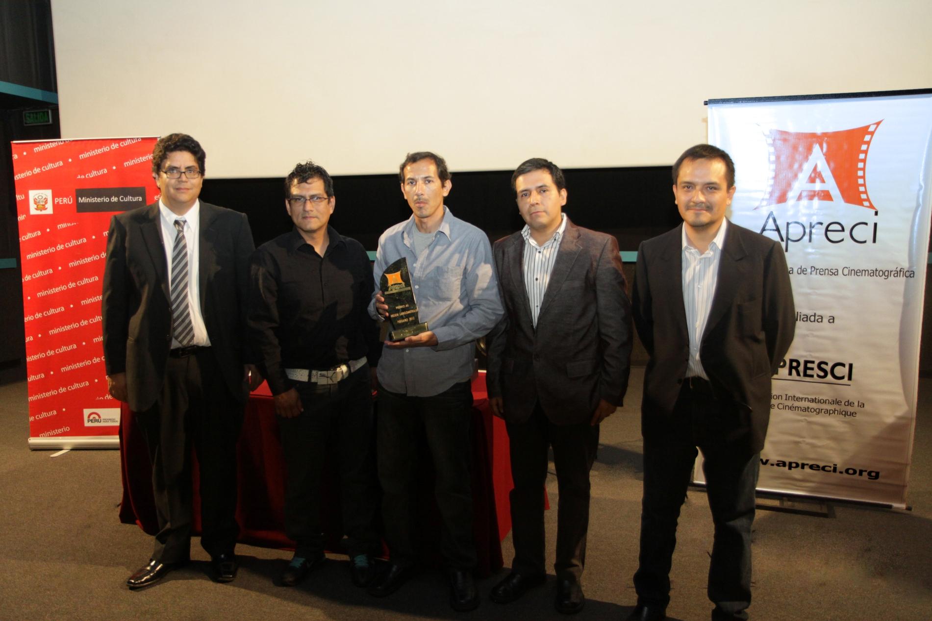 Apreci premió a Chicama como la mejor película peruana del 2012