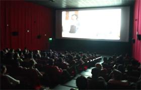 Sala de cine en Perú