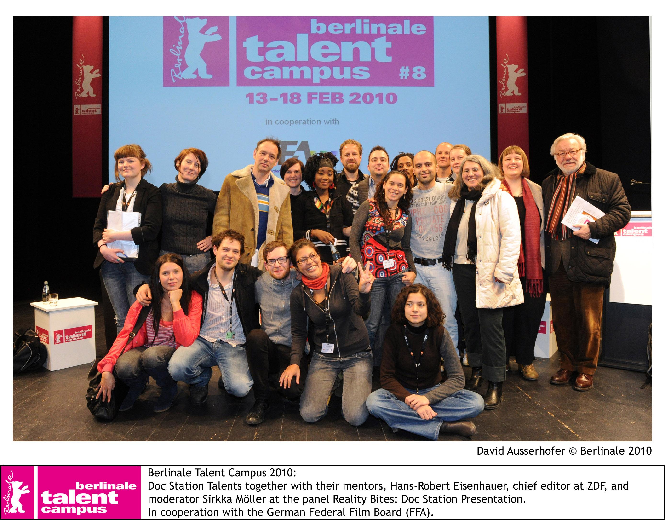 Berlinale Talent Campus 2010 - Amanda Gonzales