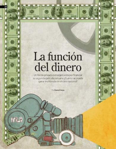 La función del dinero - financiamiento cine peruano - revista Gestion