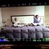 La hora azul - Giovanni Ciccia y Rossana Fernandez en rodaje