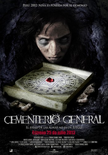 Cementerio General - poster
