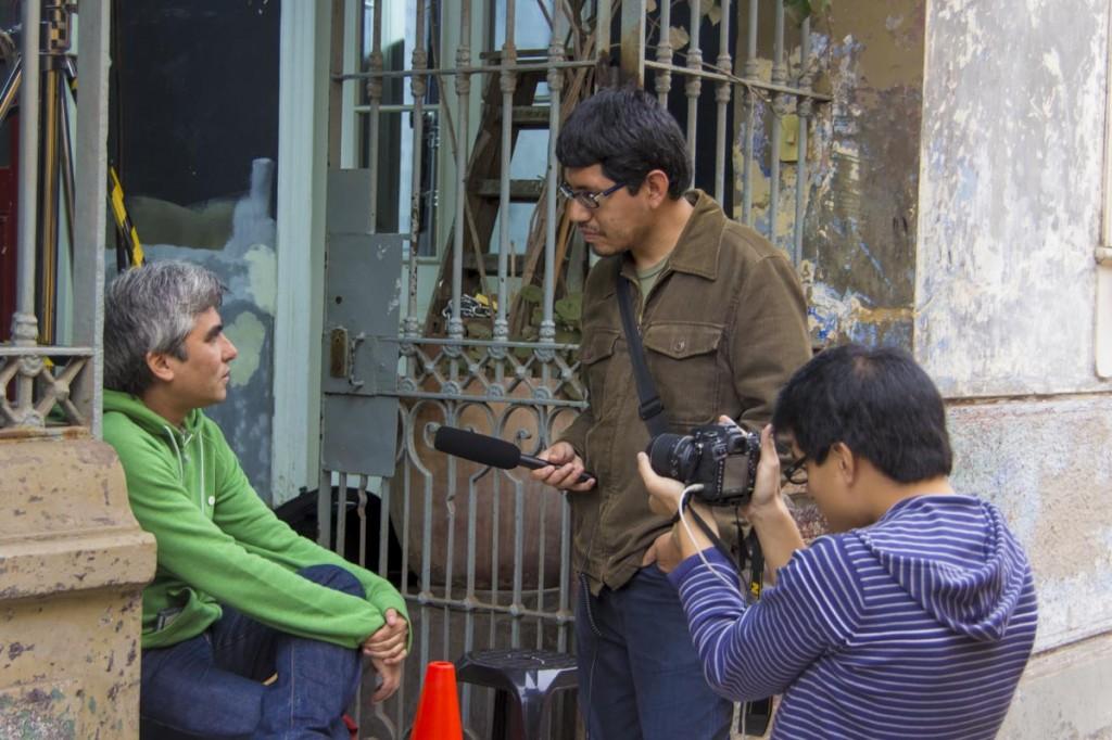 NN - Entrevistando a Héctor Gálvez