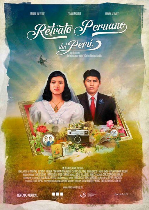 Retrato peruano del Peru - poster