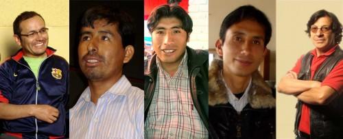 Cinco cineastas regionales peruanos
