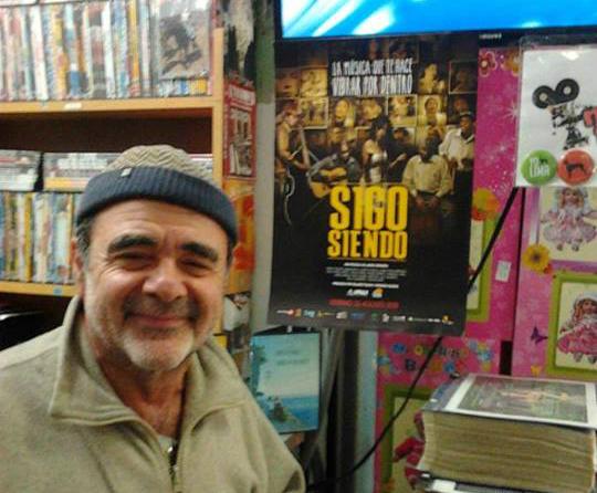 Carlos Sorin en Polvos Azules