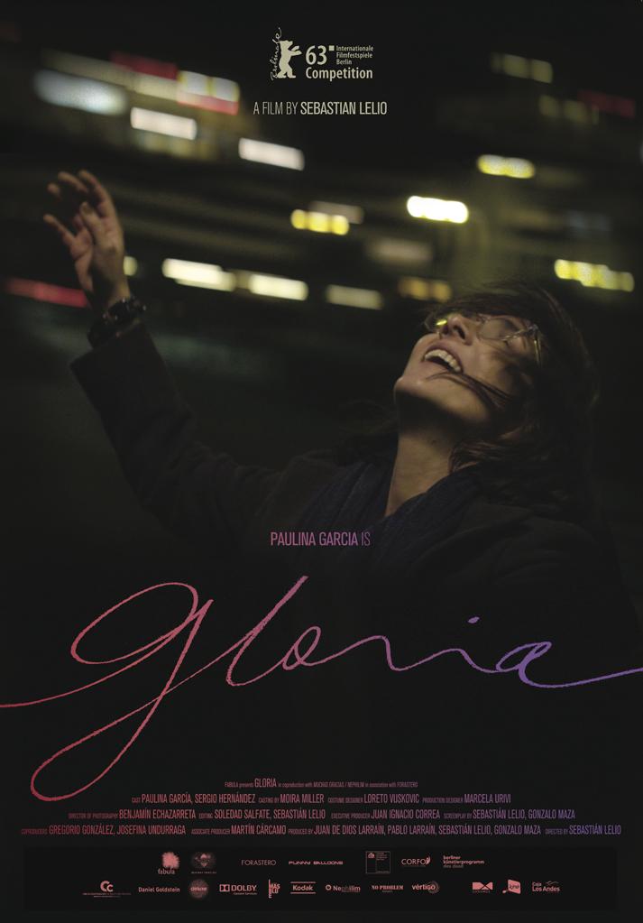 Gloria, de Sebastian Lelio - afiche