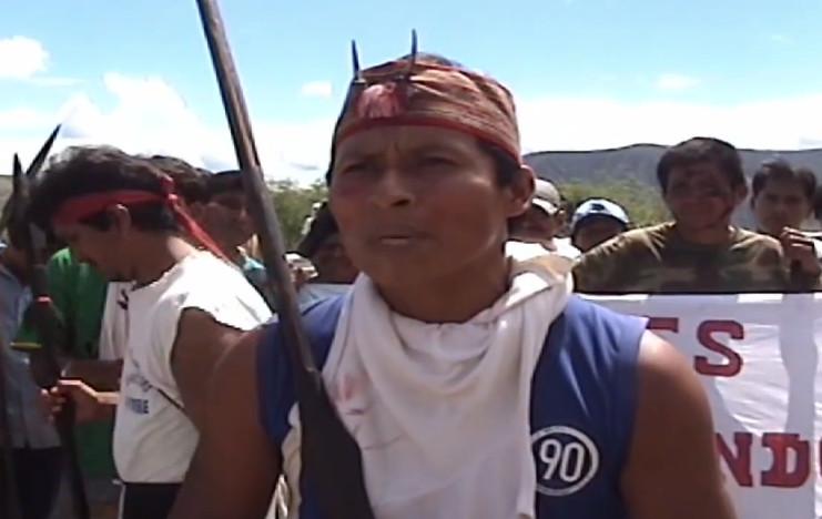La espera - Baguazo, nativo