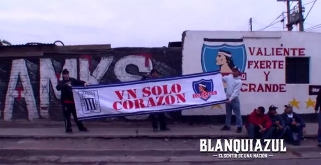 Blanquiazul el sentir de una nacion, en Chile