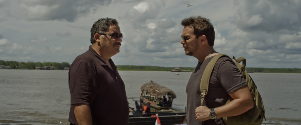 Ismael La Rosa y Oscar Carrillo en 'Desaparecer'.