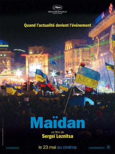 Maidan, de Sergei Loznitsa - afiche