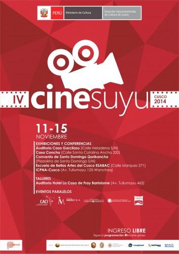 Cinesuyu 2014 - Afiche