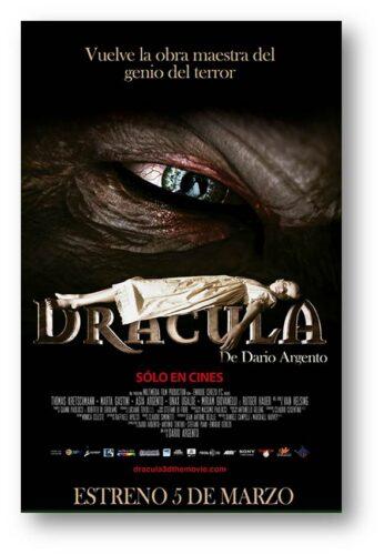 Poster Dracula 3D