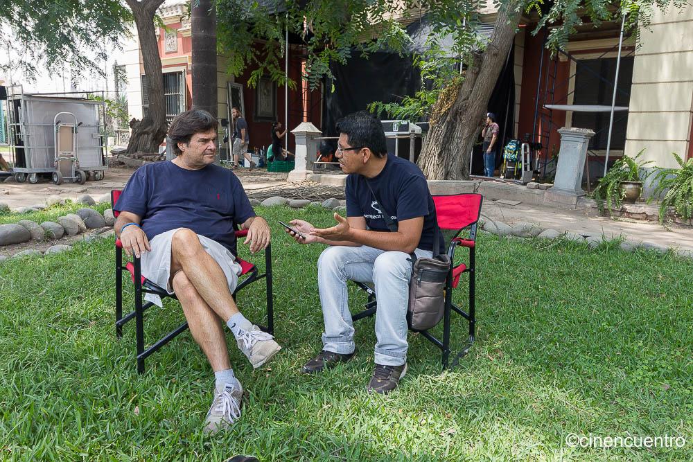 Entrevistando a Daniel Rodriguez, director de la película de terror 'No estamos solos'