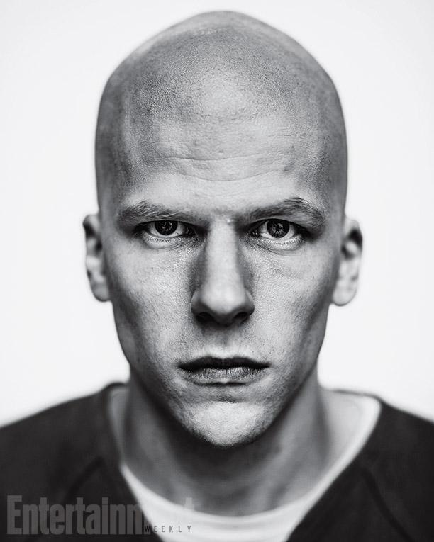 Jesse Eisenberg como Lex Luthor en Batman vs Superman