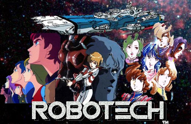 Robotech, serie animada japonesa