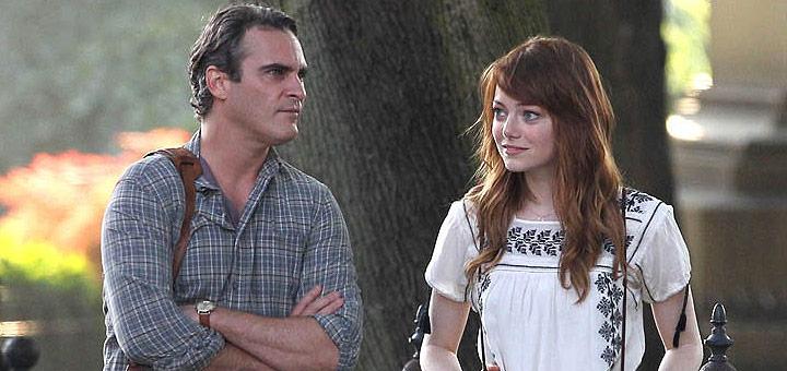 Joaquin Phoenix y Emma Stone - Irrational Man