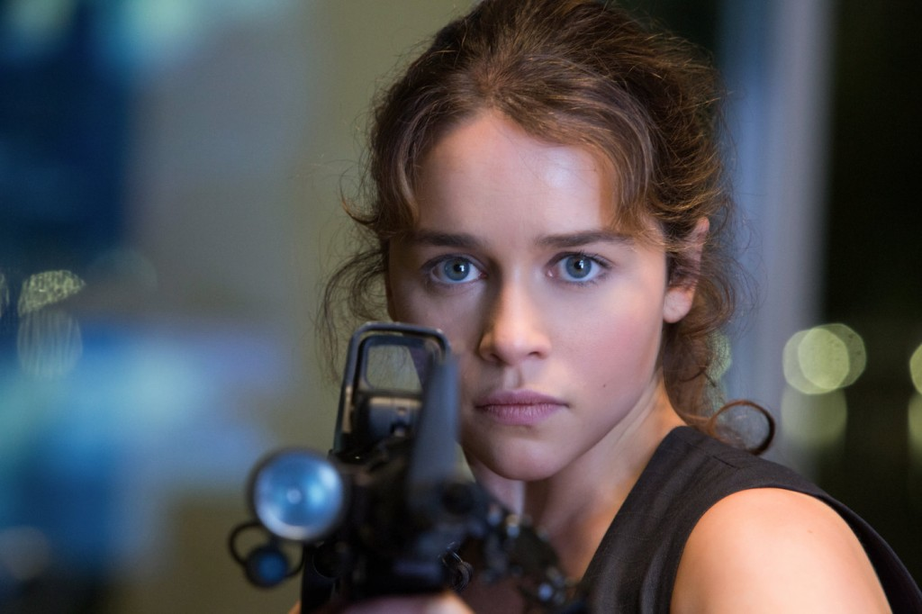 Terminator Genesis - Emilia Clarke