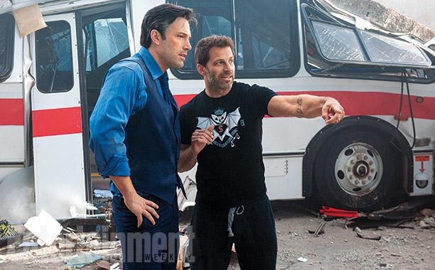 Ben Affleck y Zack Snyder