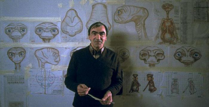 Carlo Rambaldi y sus diseños para E.T.