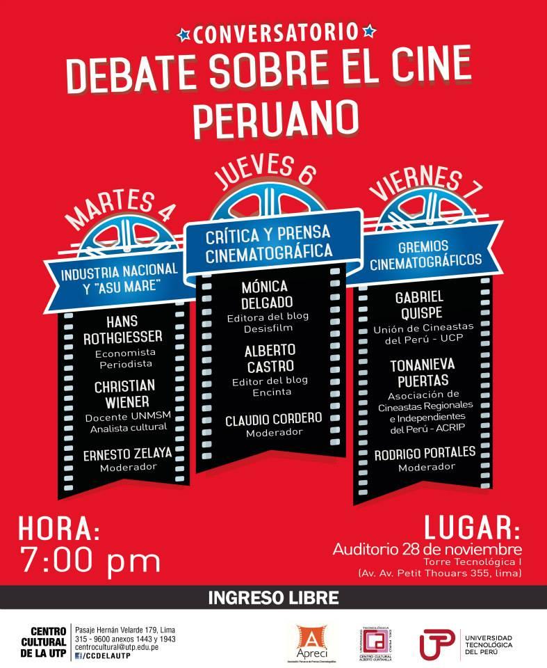 Debate sobre cine peruano