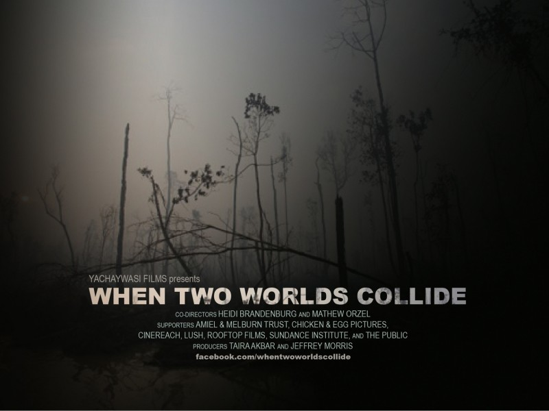 When two worlds collide - banner