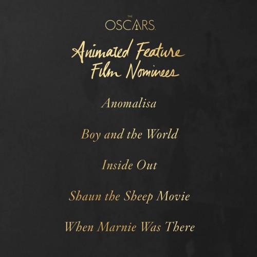 Oscar 2016 Película animada