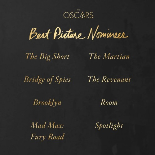 Premios Oscar 2016 - Mejor película
