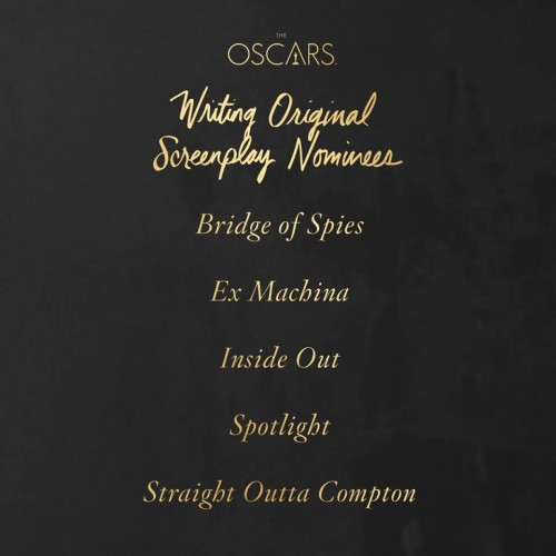 Premios Oscar Guion original