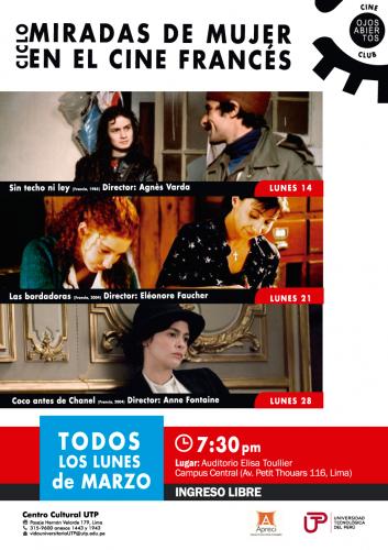 Ciclo dia de la mujer - Cineclub UTP