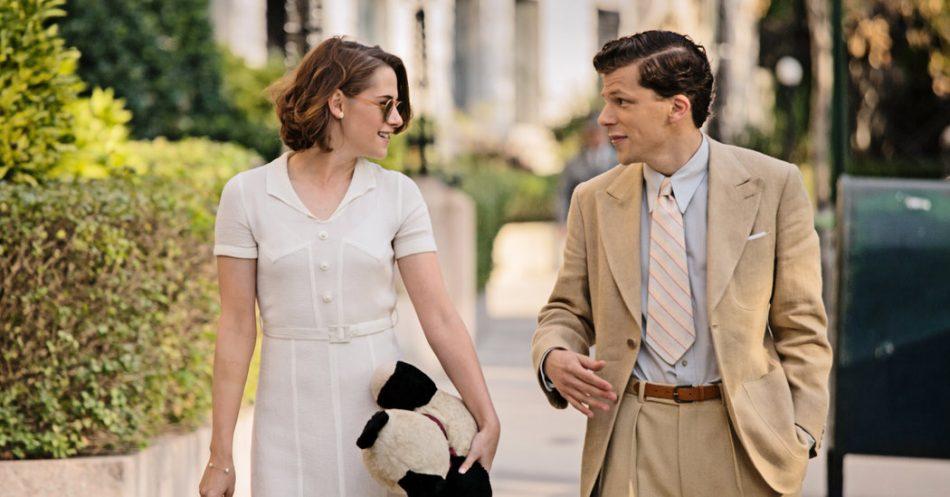 Kristen Stewart y Jesse Eisenberg protagonizan la película. Es su tercera colaboración como pareja.